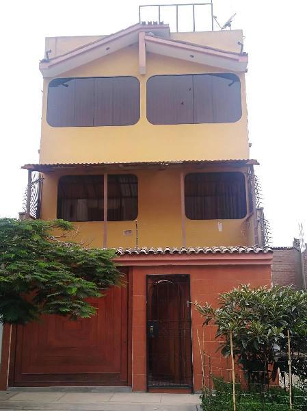 Ocasión: Vendo Casa en Carapongo (3 Pisos + Azotea +