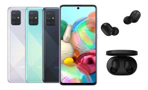 Samsung Galaxy A71 / 6gb + 128gb + Audífonos Inalámbricos