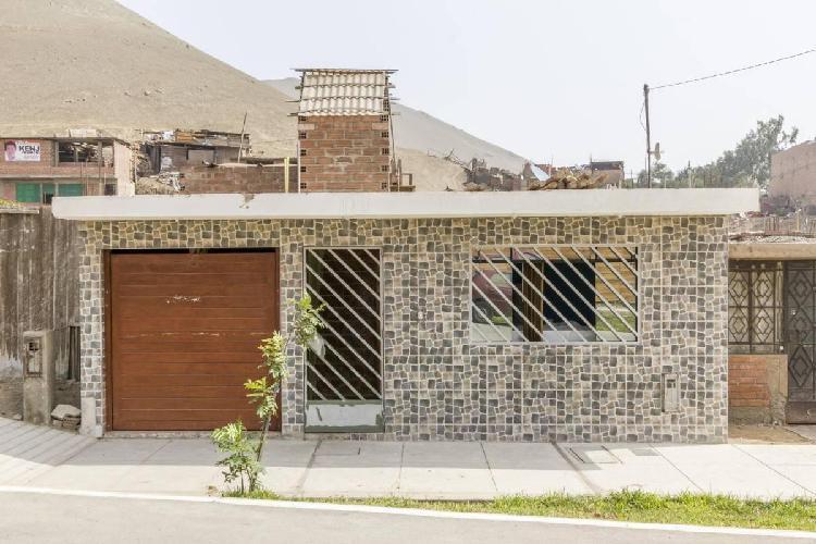 Se Vende Linda Casa de Una Plantas Ubicada Villa Los Angeles