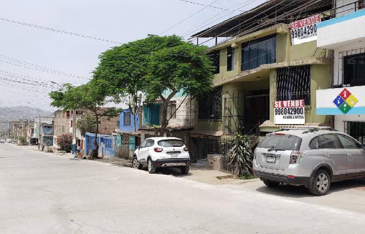 Vendo Casa en Villa Maria del Triunfo