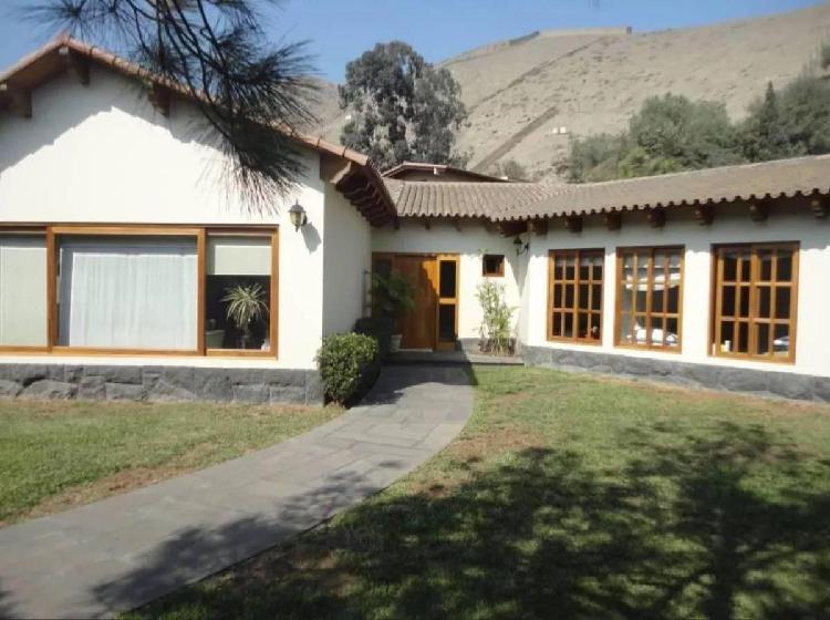 Vendo Hermosa Casa en La Mejor Zona de La Molina