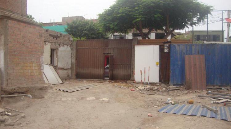 Venta de Terreno en Jr Tejada - Barranco