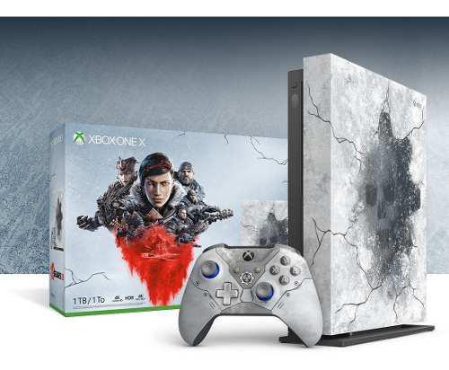 Xbox One X 1tb 4k Edicion Limitada Gears Of War 5 + Juegos