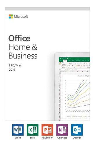 Microsoft Office 2019 Hogar Y Empresa 1 Pc Licencia Original