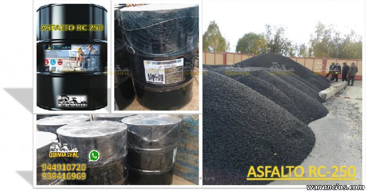 Venta de asfalto en frio saco de 25y50 kilos buen precio