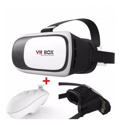 Vr Box 2.0 Lentes De Realidad Virtual + Mando Bluetooth