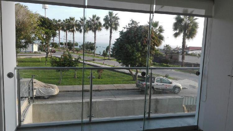 alquilo Moderno Dpto con Vista Al Mar en Av Malecon,