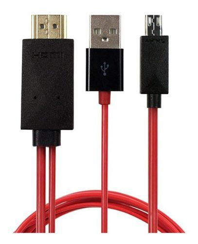 Cable Micro Usb A Hdmi Para Samsung S5, S4, S3, Tab 3.....