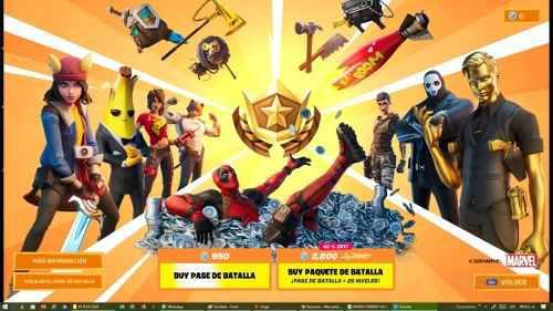 Fortnite Pase De Batalla - Capitulo 2 - Temporada 2