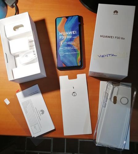 Celular Huawei P30 Lite Smartphone Con Caja Poco Uso Oferta
