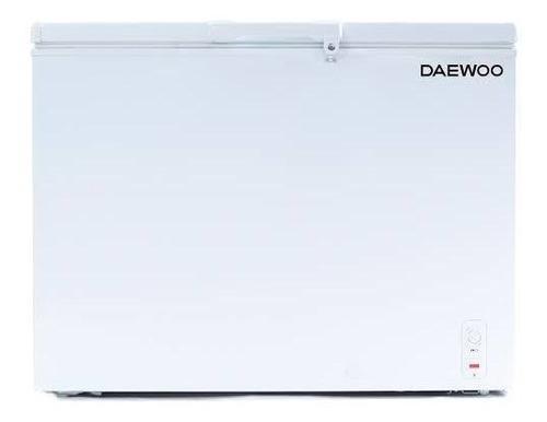 Congeladora Daewoo 200 Lts Blanco Dual Luz