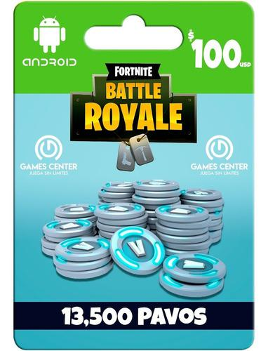 Fortnite 13500 Pavos Android - Ios - Global - Gcp