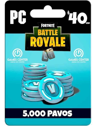 Fortnite 5000 Pavos Pc - Global - Gcp