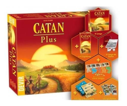 Juego De Mesa Catan Plus (español)