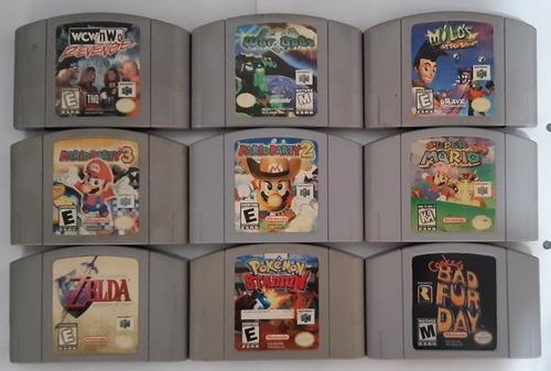 Mario 64 Pokemon Stadium Wcw Nwo War Gods Nintendo 64 N64