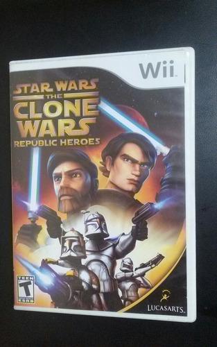 Star Wars The Clone Wars Republic Heroes - Nintendo Wii