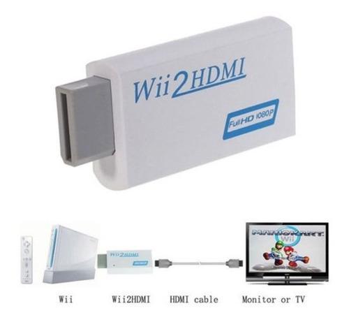 Wii2hdmi Convertidor Adaptador Wii A Hdmi Audio Hdmi 1080p