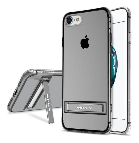 Case Funda Gel Con Pie iPhone 7 8 Plus Nillkin Transparente
