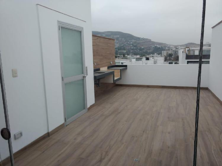 Duplex en Chacarilla Edificio Vista a Parque Estreno -