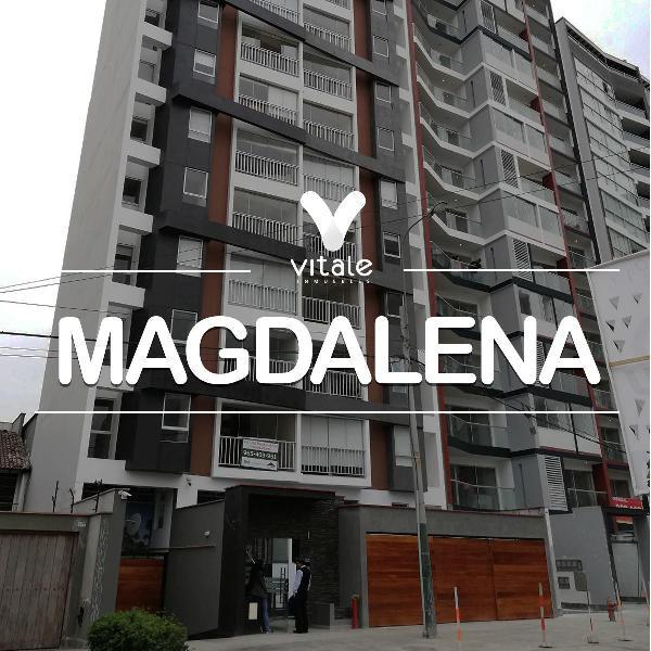 Departamento en Alquiler Sin Amoblar - Magdalena
