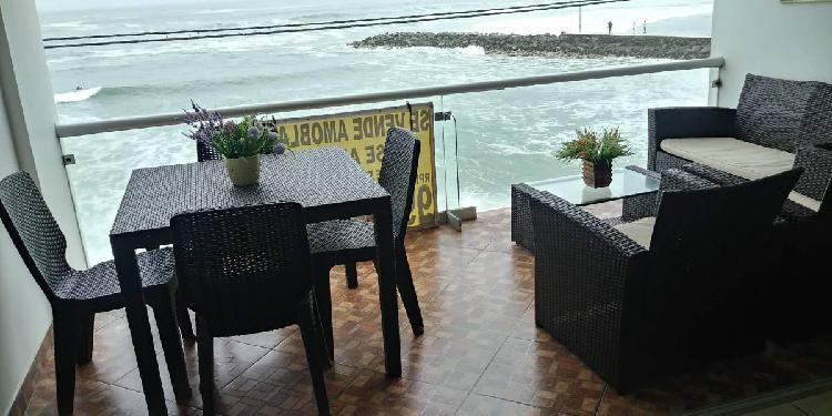 Departamento en Playa San Bartolo Frente Al Mar