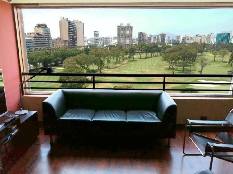 Alquilo Buen Departamento con Excelente Vista en San Isidro