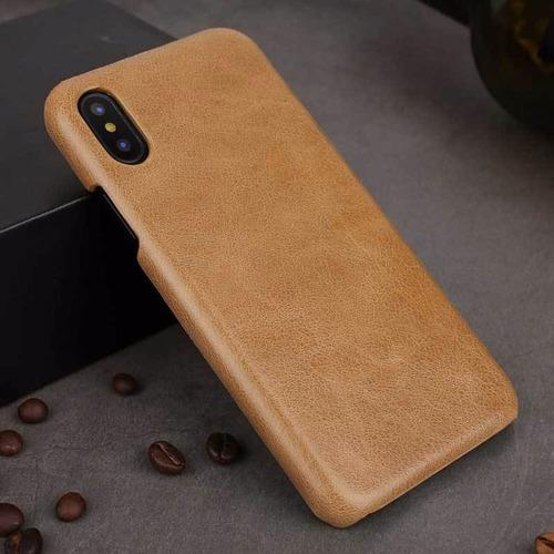 Funda Case Protector iPhone Xs Max Cuero Genuino