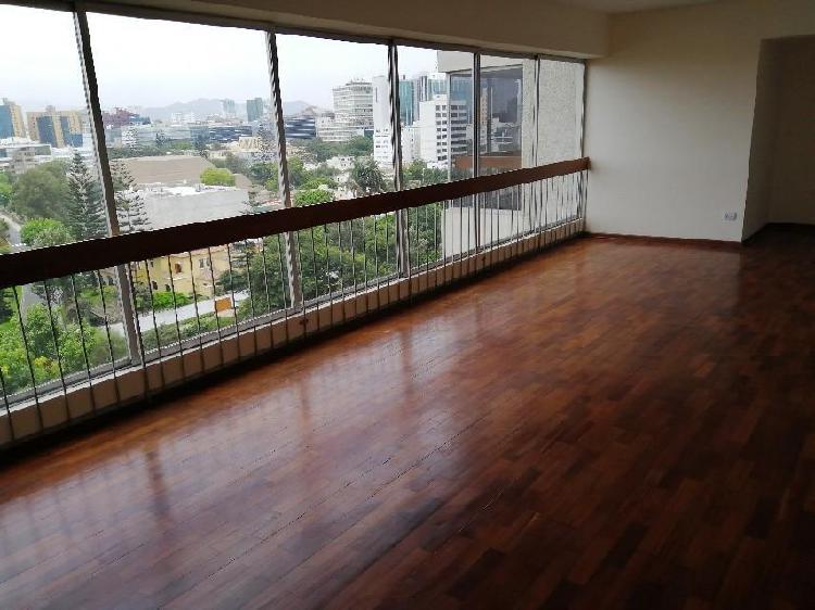 Alquilo Lindo Departamento con Vista Panorámica San Isidro