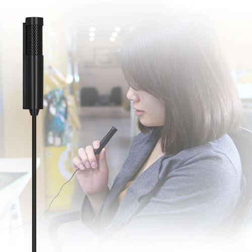 Micrófono Condensador Mini Para Pc Laptop Celular Cable