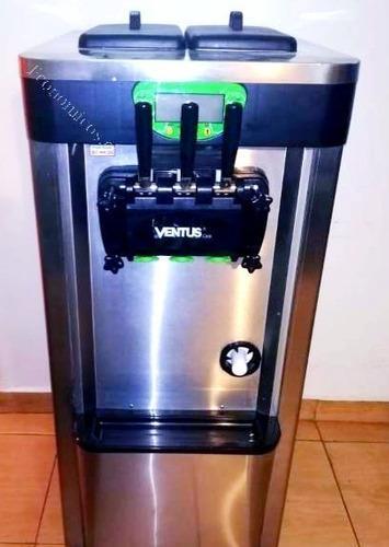 Máquina De Helados Soft Yogurt Crema Ventus Vsp-25pro.