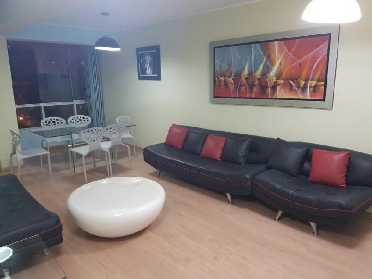 Alquilo Moderno E Iluminado Departamento en Miraflores