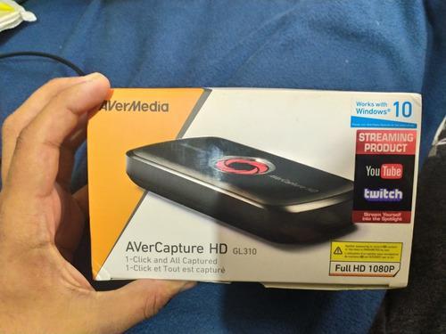 Capturadora De Video Avercapture Hd Gl310 Avermedia Youtube