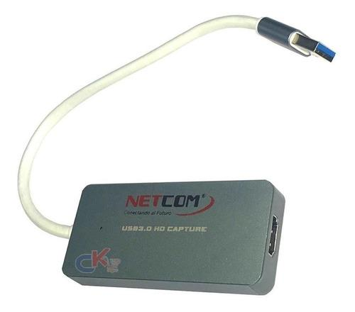 Capturadora Usb 3.0 De Video Ezcap Hdmi Netcom Obs Streaming