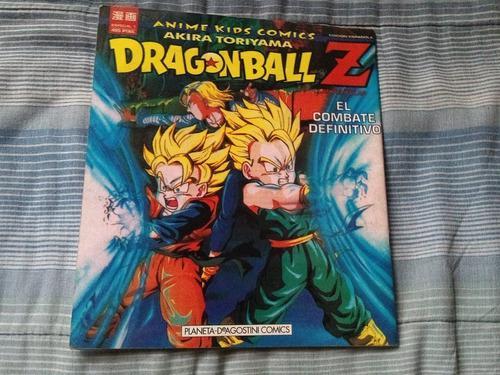 Dragon Ball Z Combate Definitivo Planeta Deagostini Manga