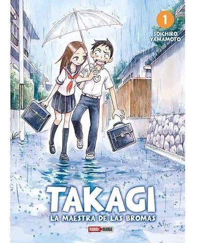 Manga Takagi La Maestra De Las Bromas Tomo 01 - Mexico