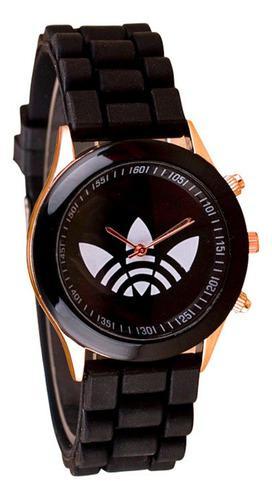 Reloj Pulsera Hombre Silicona Tipo adidas 2019 Moda Casual