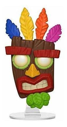 Funko Pop Games: Crash Bandicoot - Figura Coleccionable Aku