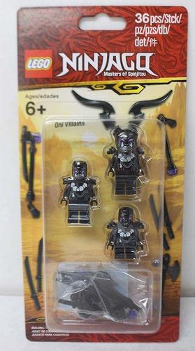 Lego Ninjago Masters Of Spinjitzu Villain Minifigura Pack