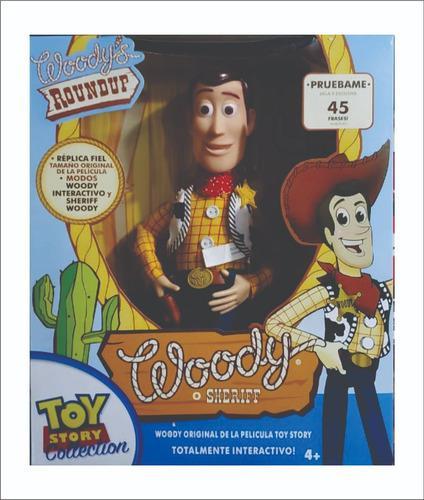 Woody Toy Story Cn Cuerda Vaquero Disney Igual A La Pelicula