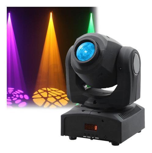 Cabeza Móvil Spot 30w Led Dj Dmx Ritmico Discoteca Karaoke
