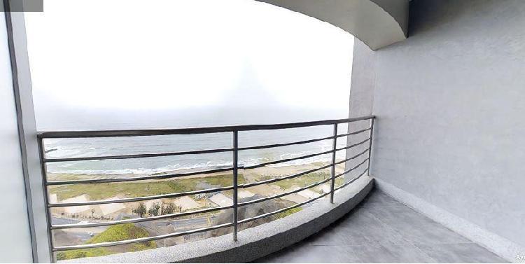 Departamento de Estreno con Vista Al Mar en Miraflores