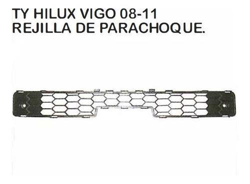 Rejilla De Parachoque Toyota Hilux 2008 - 2011