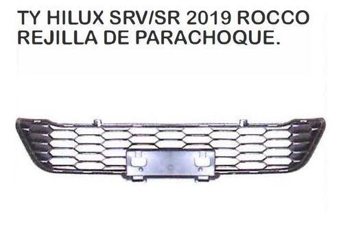 Rejilla De Parachoque Toyota Hilux 2019 - 2020 Rocco