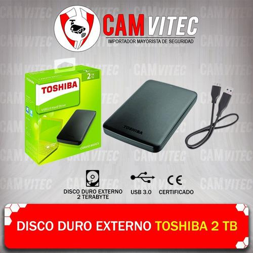 Disco Duro Toshiba 2tb Externo