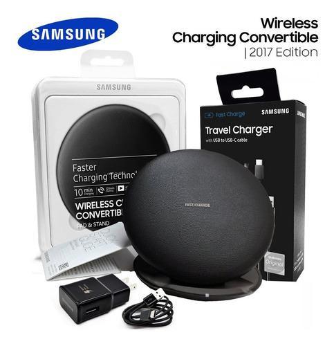 Cargador Inalámbrico Rápido Samsung @ S10 S9 S8 Note 10 9