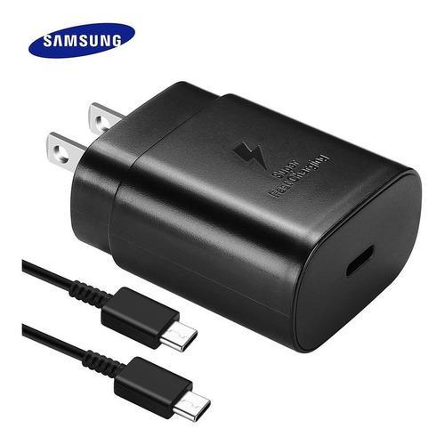 Cargador Samsung A70/ A80 Súper Fast Charging Usb C