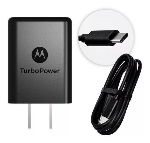Cargador Turbo Power Motorola Tipo-c Moto G6/g6play/ G6 Plus