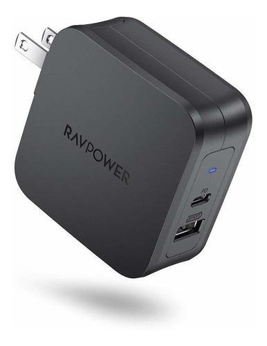Ravpower - Cargador Usb C De 61 W Tipo C Pd 3.0, Cargador