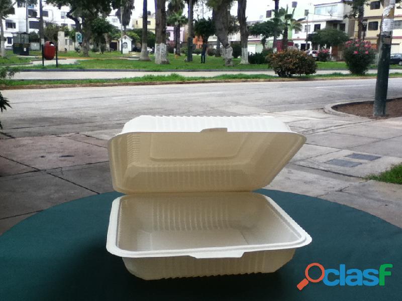 BIODEGRADABLES PARA DELIVERY Lima Perú para alimentos