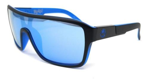 Autenticos Lentes De Sol Dragon Remix Matte Black - Sky Blue